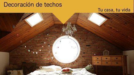 Tu casa, tu vida: Decoración de techos